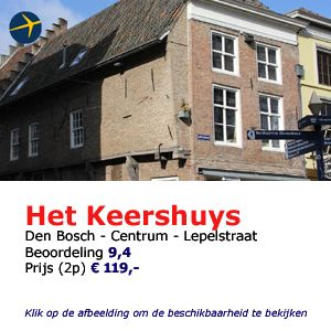 Bed and breakfast Den Bosch boutique hotel het keershuys